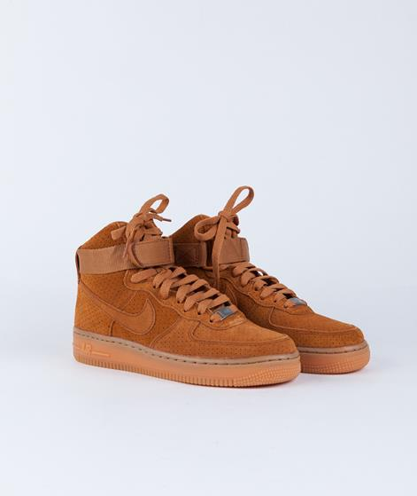 NIKE Air Force 1 HI Sneaker tawny