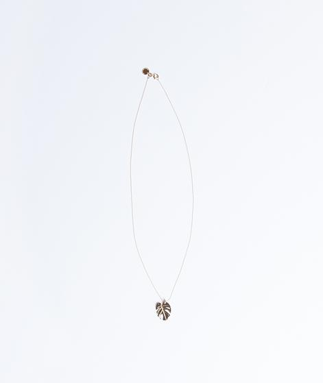 GOODTHINGSWILLHAPPENSOON Leaf Necklace