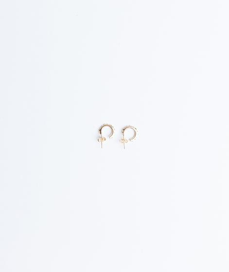 JUKSEREI Pyramid Ear Stud gold