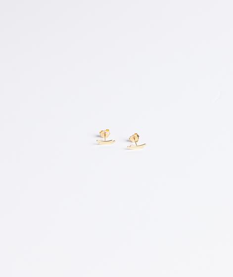 JUKSEREI Weave Ear Stud gold
