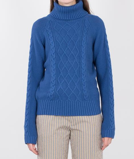 POPCPH Cable Knit Sweater blue