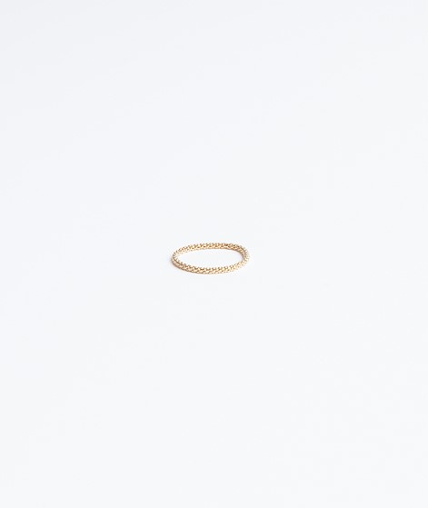 JUKSEREI Acorn Ring gold