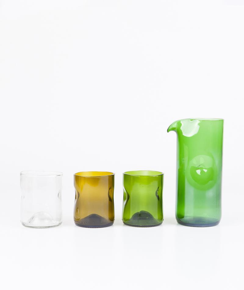 JESPER JENSEN Set 3 glasses with jug