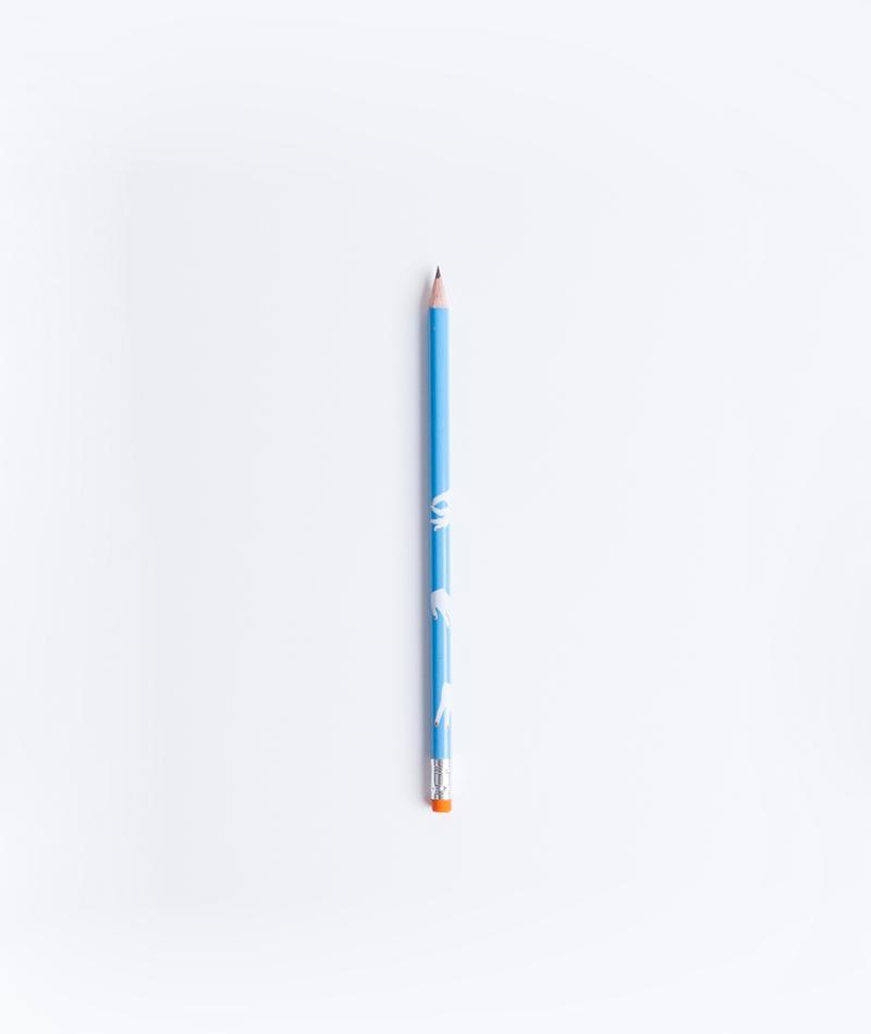 KAUF DICH GLÜCKLICH Bleistift Hände
