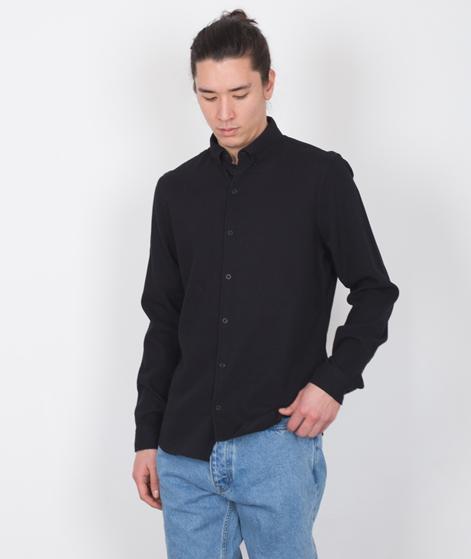 NOWADAYS Pique Hemd black