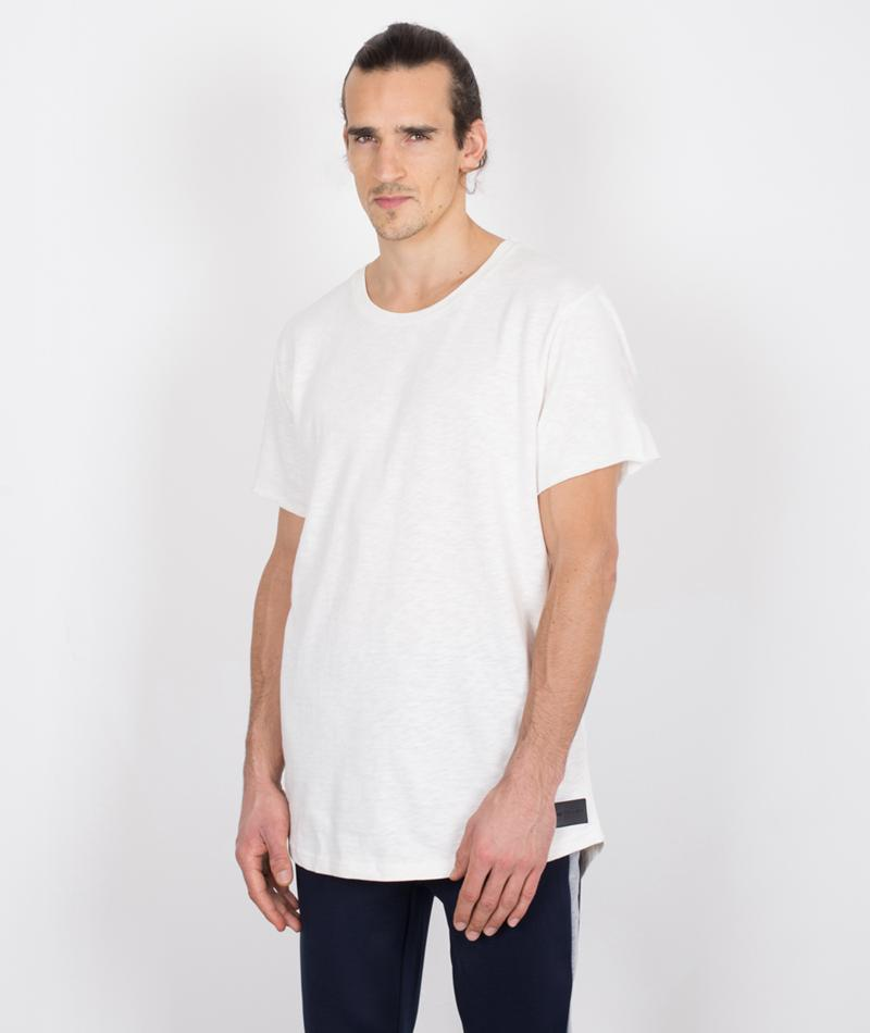 JUST JUNKIES Moore T-Shirt off white