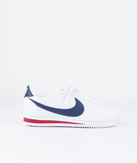 NIKE Classic Cortez Leather white/navy