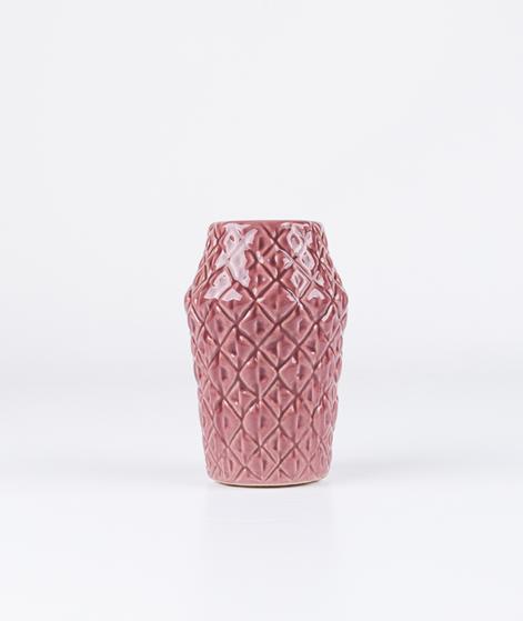 BLOOMINGVILLE Ceramic Vase dark rose