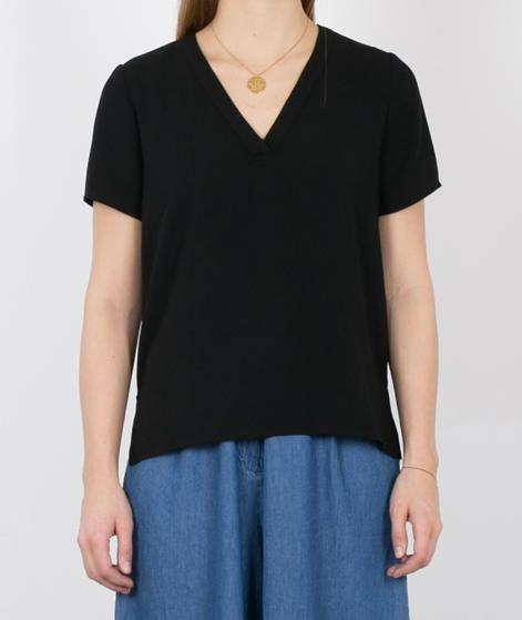 SELECTED FEMME SFPrea Bluse SS Solid black