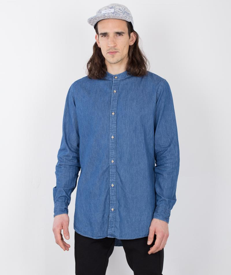 ADPT. Slappy Hemd medium blue
