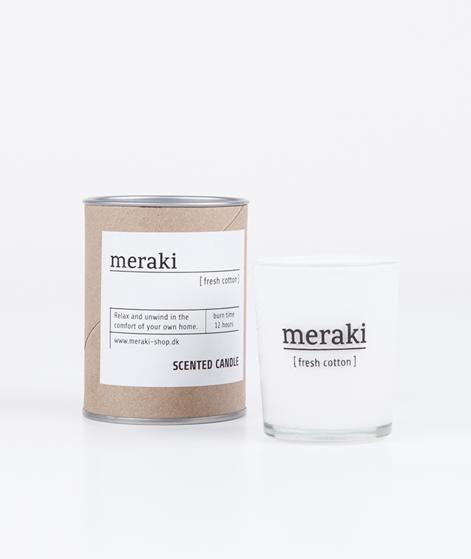 MERAKI Duftkerze Fresh Cotton