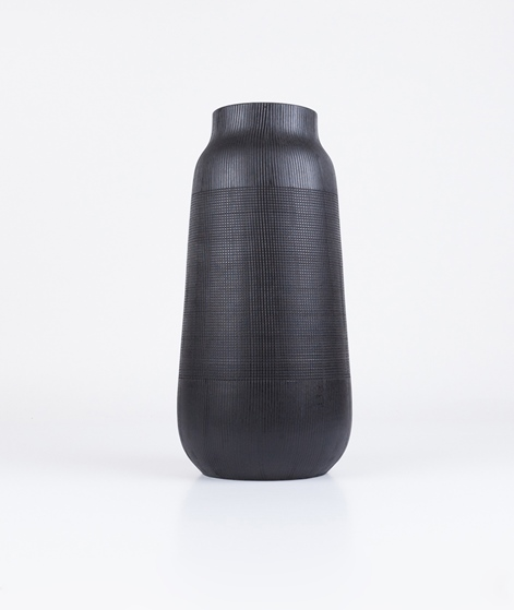HOUSE DOCTOR Vase Groove black