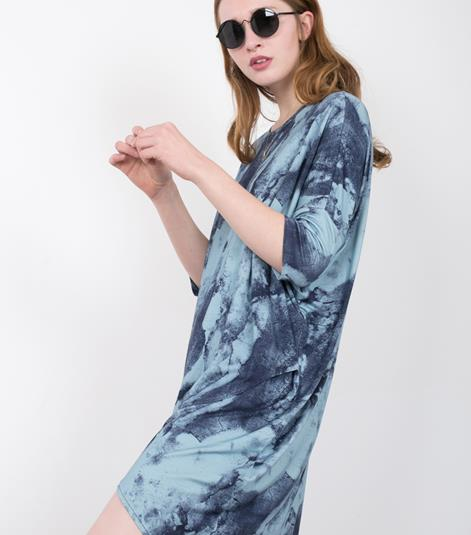 JUST FEMALE Earth Long Kleid