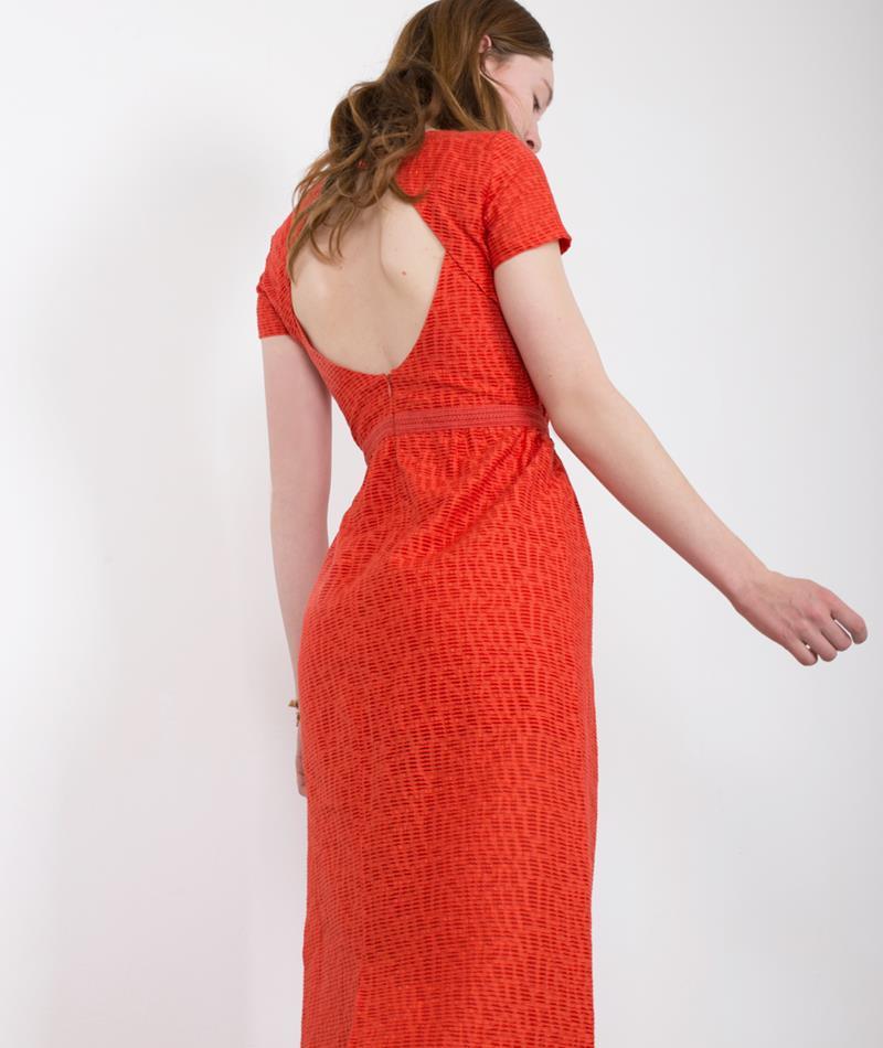SESSUN Akari Kleid mandarin