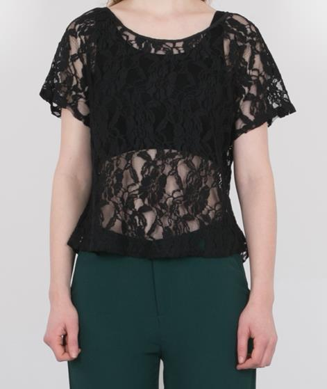 POP CPH Broderie Anglaise Bluse black
