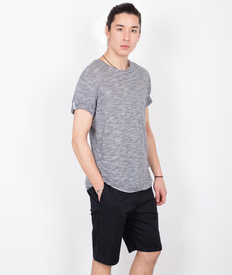 NOWADAYS Knit Stripe T-Shirt