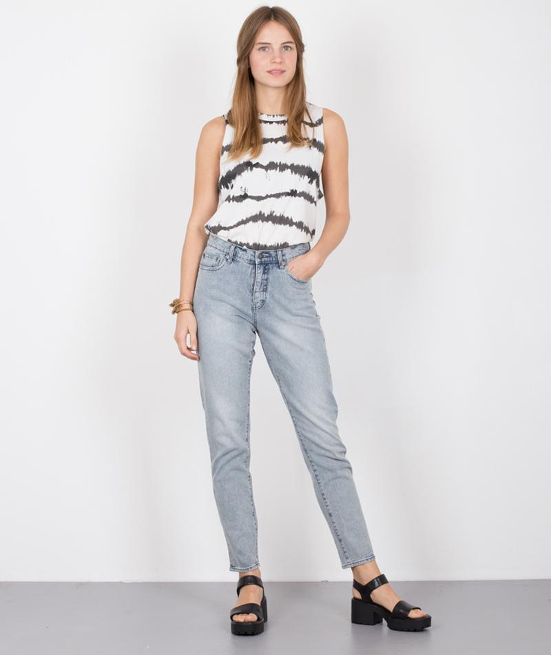 CHEAP MONDAY Trouble Top dirty white