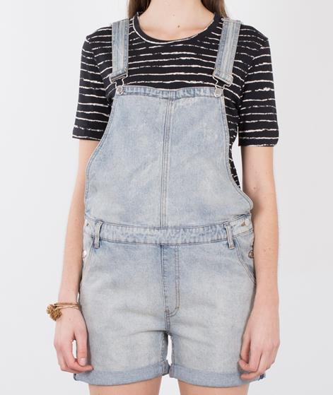 CHEAP MONDAY Cut Bib Overall jet blue