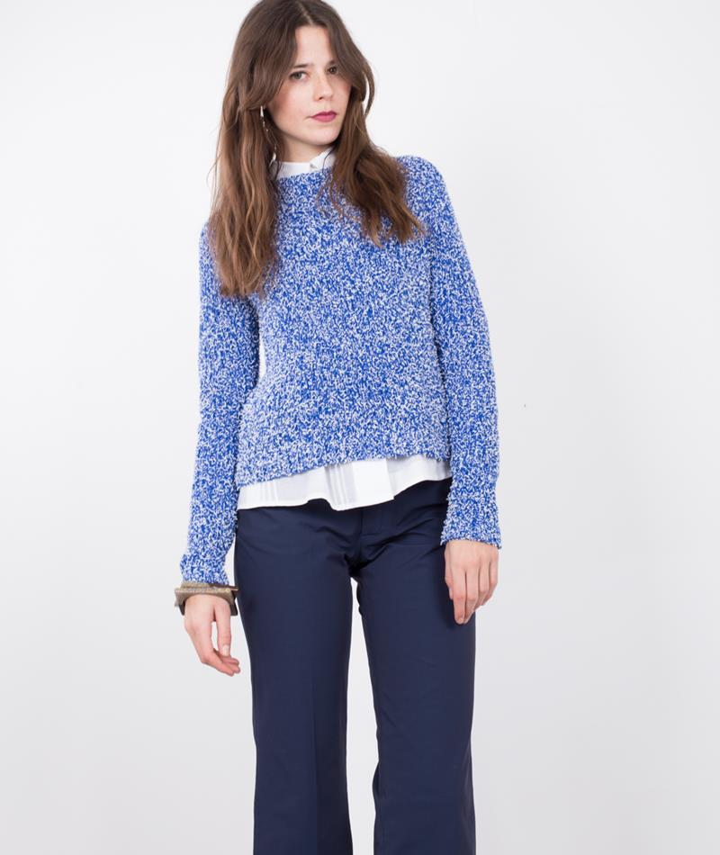 MADS NORGAARD Koma Pullover blue