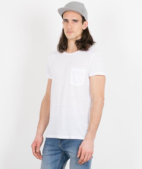 CHEAP MONDAY Cap Pocket T-Shirt white