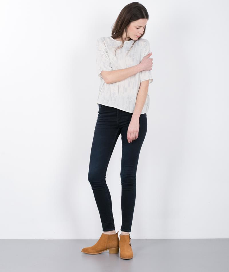 CHEAP MONDAY High Snap Jeans od blue