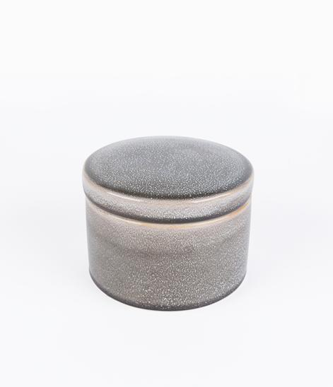 HOUSE DOCTOR Jar with Lid Croz grey