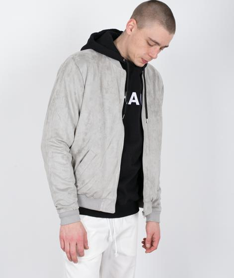 LEGENDS Flores Bomberjacke light grey