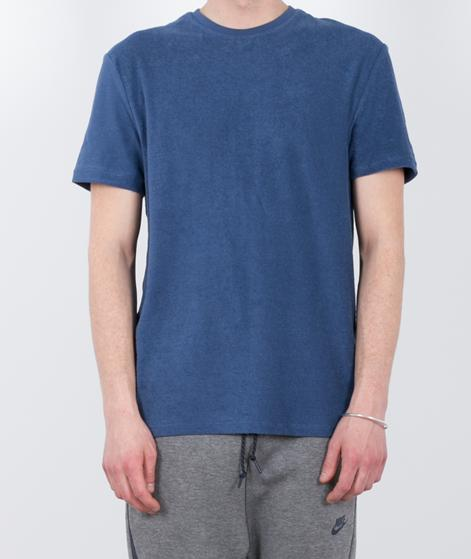 TOPMAN Towelling T-Shirt blue