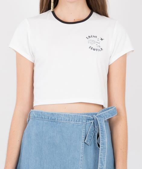 MINKPINK Tacos `n` Tequila T-Shirt white