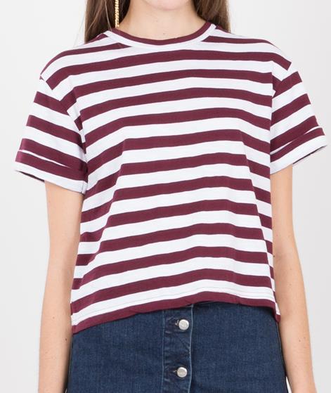 WEMOTO Kilda T-Shirt burgundy white