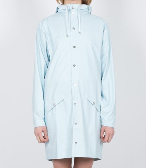 RAINS Long Jacke wan blue
