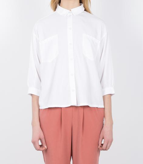 SELECTED FEMME Nevia Bluse snow white