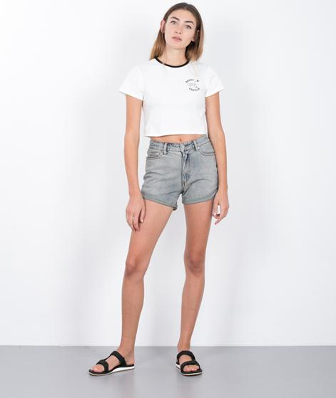 CHEAP MONDAY Donna Shorts jet blue
