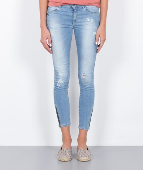 GLOBAL FUNK Two Jeans light blue damage