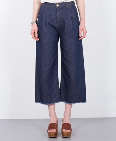 RODEBJER Mina Denim Hose dark blue denim