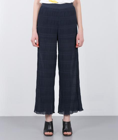GANNI Hall Pleat Hose total eclipse