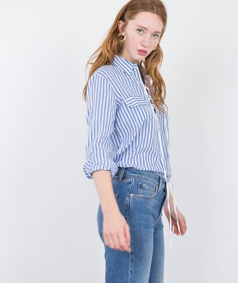 LEON & HARPER Canela Bluse stripes blue