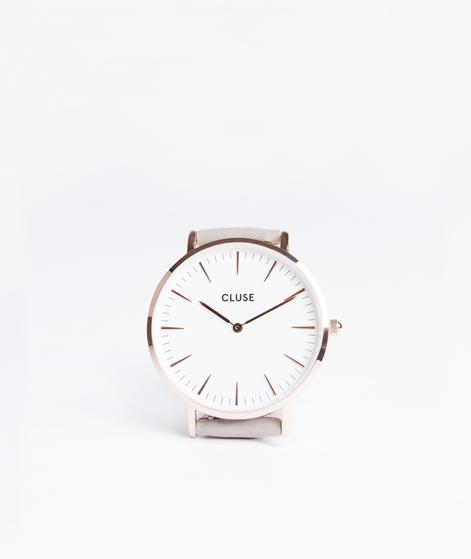 CLUSE La Boheme Uhr rose gold/white/grey