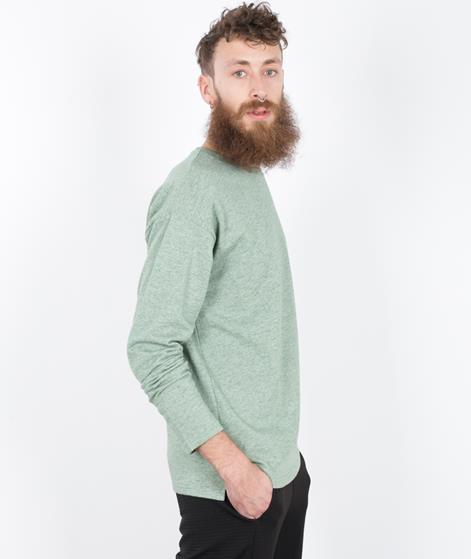 ADPT. Zinc Pullover elm green melange