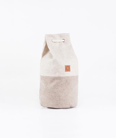 MARIN ET MARINE Wool Tasche sand