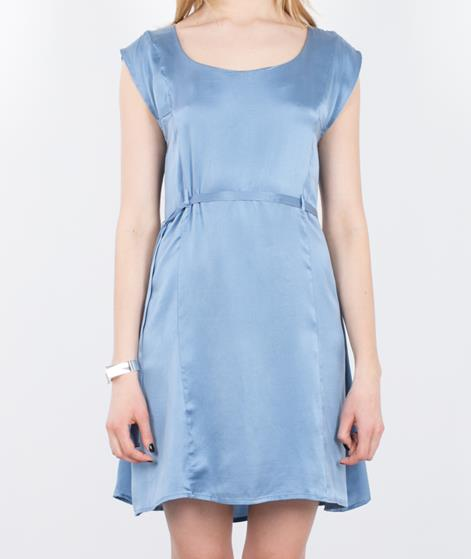 POP CPH Sand-washed Silk Kleid sky