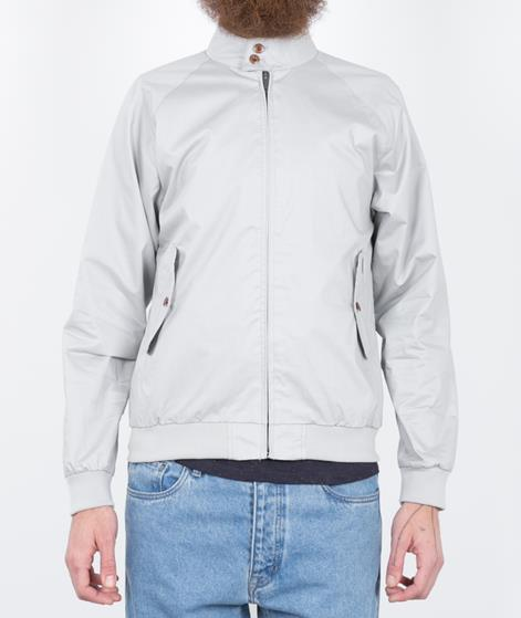 BEN SHERMAN Harrington Jacke light grey