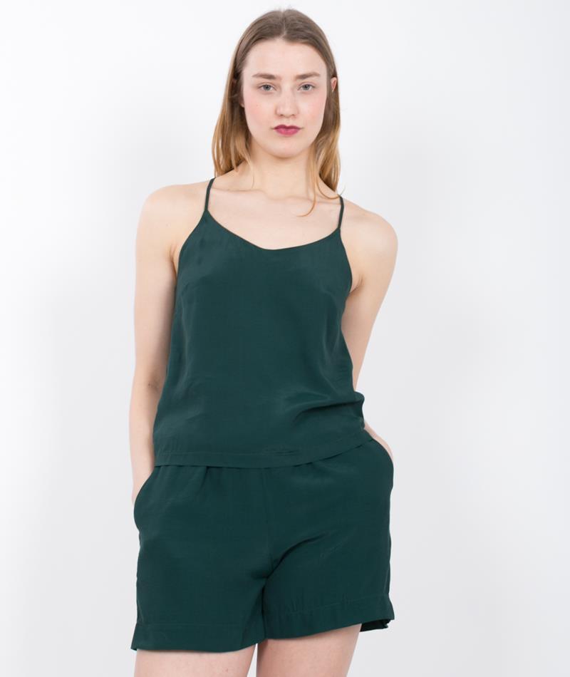 KAUF DICH GL�CKLICH Zoe Top dark green