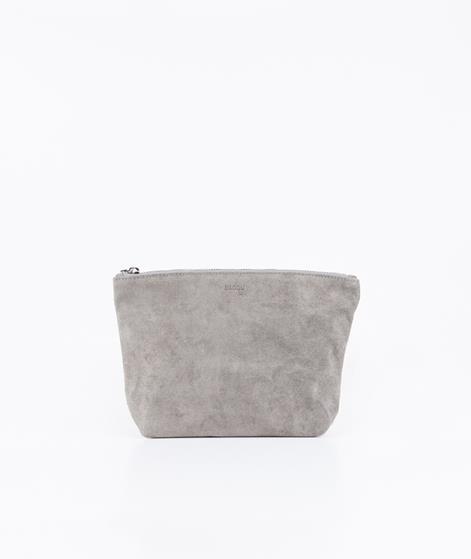 BAGGU Stash Clutch grey suede