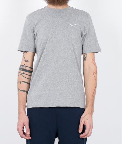 NIKE Embroidered Swoosh T-Shirt dk grey