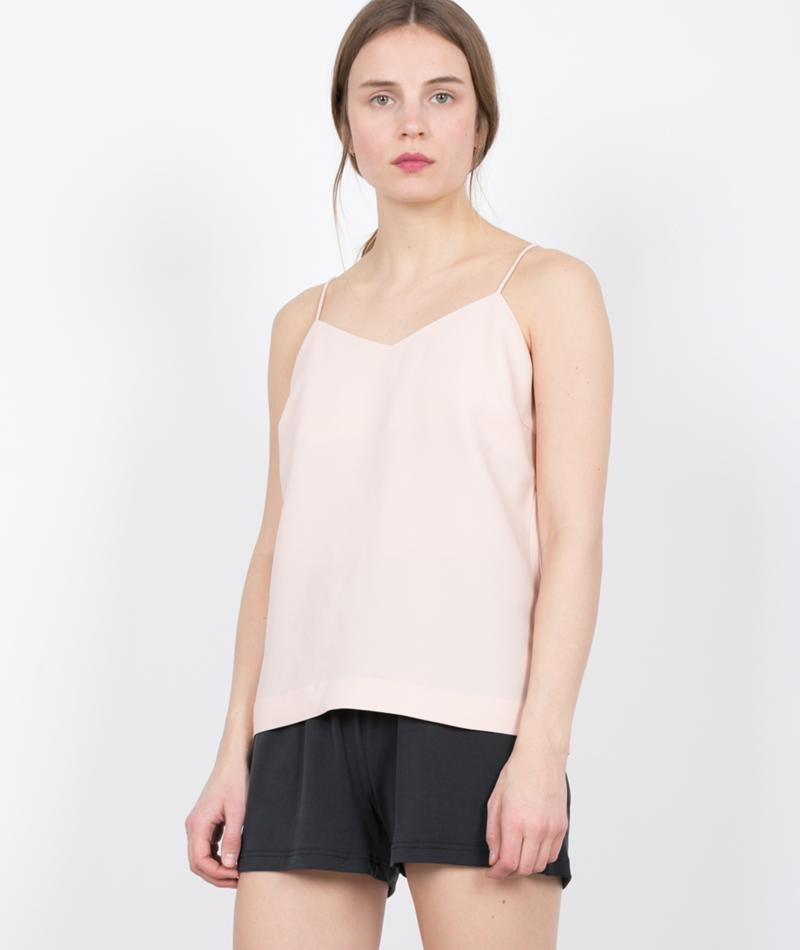 SELECTED FEMME Newsmile Strap Top cameo