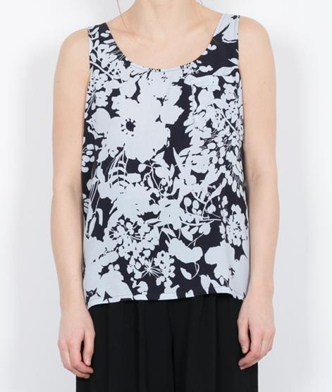 M BY M Facia Delilah Top avea print