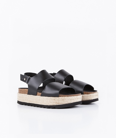 SHOE SHI BAR Bio Sandalen black