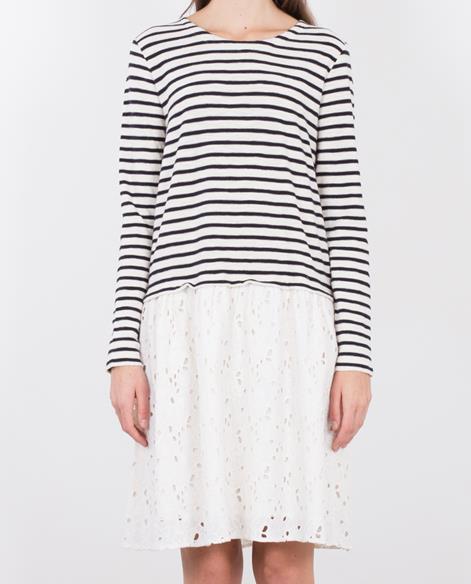 LEON & HARPER Relka Kleid off white