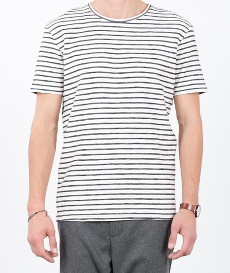 SELECTED HOMME Structured T-Shirt white